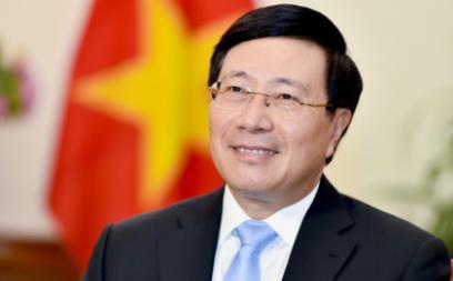 Vice Prime Minister Phạm Bình Minh